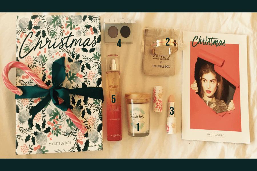 Unboxing My Little Box – Décembre 2016