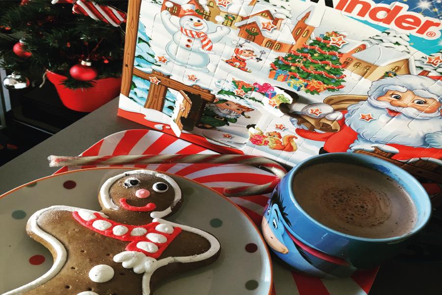 Une journée cocooning à Noël