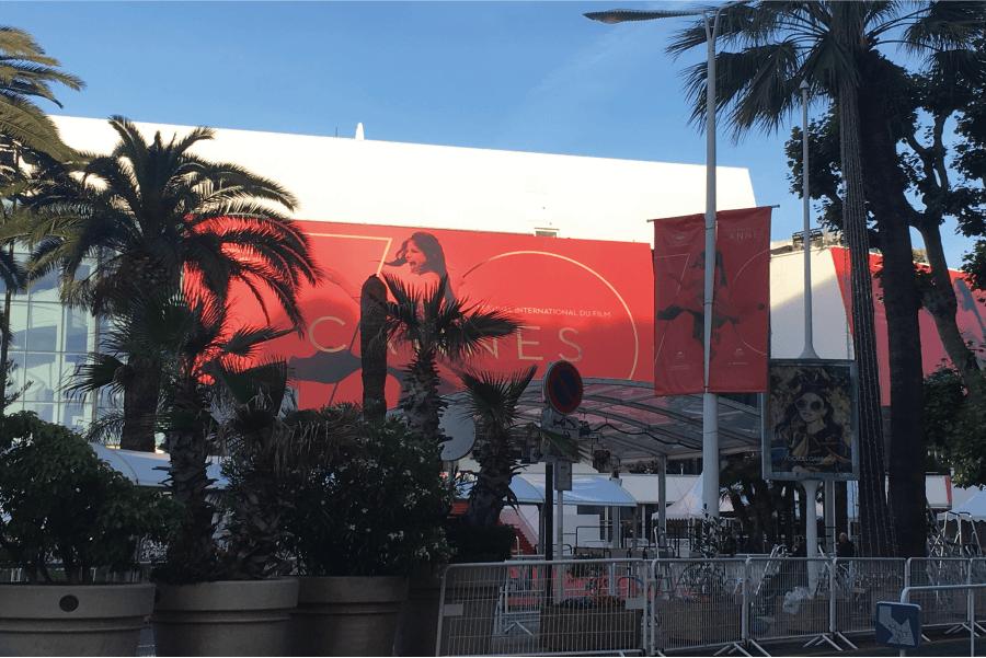 Cannes au moment du Festival du Film